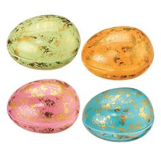 Add a fun surprise to your Easter egg hunt by storing little goodies in the trinket box. Decorated with gold specks • Opens in the middleMATERIALS•ImportedWhile supplies last. Easter Bunny, Easter Eggs, Egg Styles, Easter 2018, Easter Traditions, Easter Treats, Egg Hunt, Easter Baskets, Holidays And Events