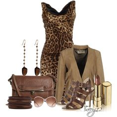 """Browns"" by traceyj12 on Polyvore"
