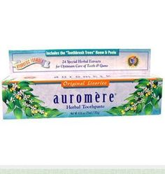 Win assorted Auromere products including toothpaste and hair oil!