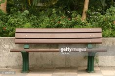 View top-quality stock photos of Bench. Find premium, high-resolution stock photography at Getty Images. Outdoor Furniture, Outdoor Decor, Royalty Free Images, Empty, Bench, Stock Photos, Park, Photography, Home Decor