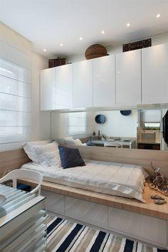 quarto de hospedes com home office
