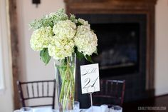 Centerpiece Jennie & Andrew | Stevenson Ridge Wedding » Carley Rehberg Photography