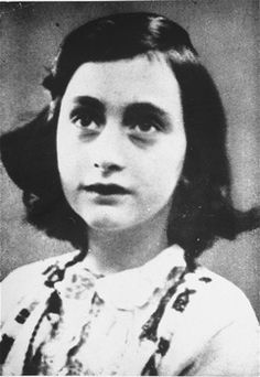Anne Frank......1929 - 1945.....Two burial places.  This one lists Bergen - Belsen Concentration Camp.....Confusing.