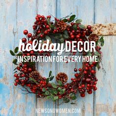 Holiday Decor {part 1} | Erika Millard www.newsongwomen.com