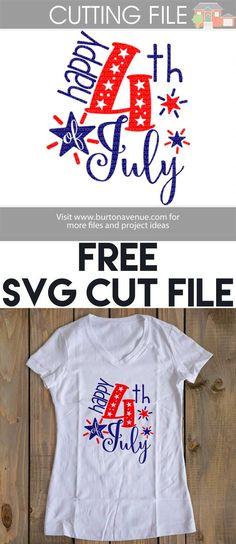 4th Of July Shirt Svg : shirt, Ideas, July,, Cricut,, Vinyl, Projects