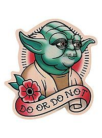 COM - Star Wars Yoda Aufkleber machen oder nicht tattoo for men tattoos tattoo tattoo japones tattoo tattoo traditional Star Wars Tattoo, Star Tattoos, Leg Tattoos, Body Art Tattoos, Tatoos, Tattoo Arm, Dessin Old School, Desenhos Old School, Traditional Tattoo Design