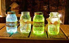 3 minutes, c'est tout ce qu'il vous faut pour faire ces lucioles en pot! - Bricolages - Trucs et Bricolages