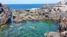 la piscina naturale alla località Nasca sull'isola di san pietro a carloforte