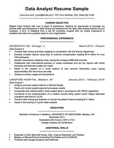 Data Scientist Entry Level Resume Beautiful Data Analyst Resume Sample & Writing Tips Resume Summary Examples, Resume Objective Examples, Cover Letter For Resume, Cover Letter Template, Letter Templates, Entry Level Resume, Student Resume, Business Analyst, Resume Format