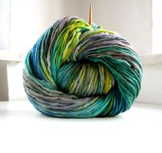 Merino, hand-dyed _ By B.eňa Renata Holková