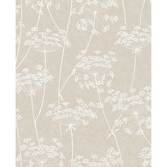 Graham & Brown Innocence Aura x Floral and Botanical Wallpaper Color: Taupe Neutral Wallpaper, Glitter Wallpaper, Wallpaper Decor, Wallpaper Samples, Textured Wallpaper, Wallpaper Roll, Wallpaper Ideas, Linen Wallpaper, Brown Wallpaper