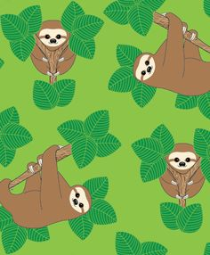 Stanley the Sloth- Joanne Paynter Design