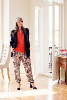 Printed pants never go out of fashion but are highly significant picks for this time! While they are a full length pant, they were designed with cool comfort in mind making them the ideal transeasonal piece.