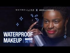 Check out our makeup video where Avielle Amor tests Maybelline Waterproof Lip & Eye Makeup! Liquid Eyeshadow, Gel Eyeliner, Waterproof Makeup, Makeup Videos, Color Tattoo, Maybelline, Eye Makeup, Youtube, Check