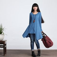 Casual Long Sleeved T-shirt Blouse for Autumn and от deboy2000
