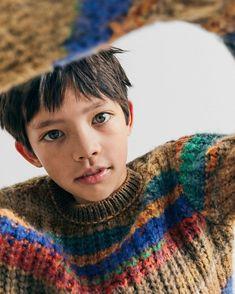 "Zara Kids on Instagram: ""This is #zaranewin | Mixed knit sweater"""