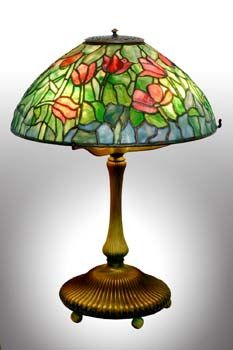 Authentic Tiffany Tulip Lamp