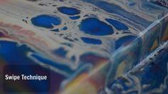 Fluid Painting | Swipe Technique | Cells | Easy Swipe Tutorial | Jasvir ...