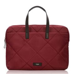 Talbot Slim Briefcase - Bordeaux