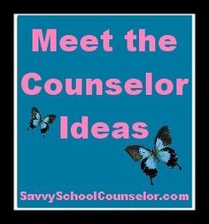 Meet the Counselor Ideas from Savvy School Counselor - games!#Repin By:Pinterest++ for iPad#