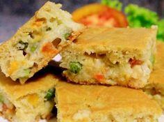 Torta salgada sem glúten e sem leite - Veja mais em: http://www.cybercook.com.br/receita-de-torta-salgada-sem-gluten-e-sem-leite.html?codigo=18507