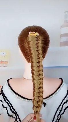 Brown To Blonde Balayage Discover Beautiful hairstyles Beautiful hairstyles Easy Hairstyles For Long Hair, Braids For Long Hair, Braided Hairstyles, Beautiful Hairstyles, Summer Hairstyles, Hair Style Vedio, Short Hair Lengths, Hair Up Styles, Long Hair Video
