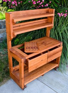 Charming Outdoor Patio Storage Cabinets With Faux Reclaimed Wood Finish And Two Tier Shelves from Best Outdoor Cabinets