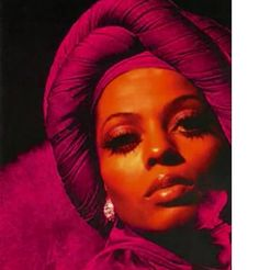 Turbans aren't a new trend, check out Ms. Ross rockin' this fabulous turban in the 70s