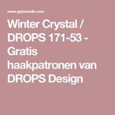 Winter Crystal / DROPS 171-53 - Gratis haakpatronen van DROPS Design