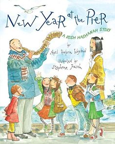 """New Year at the Pier: A Rosh Hashanah Story by April Halprin Wayland. Izzy's favorite part of Rosh Hashanah is Tashlich, a joyous ceremony in which people apologize for the mistakes they made in the previous year and thus clean the slate as the new year begins. But there is one mistake on Izzy's """"I'm sorry"""" list that he's finding especially hard to say out loud. http://www.amazon.com/dp/0803732791/ref=cm_sw_r_pi_dp_1PY.vb0P29YZX"""