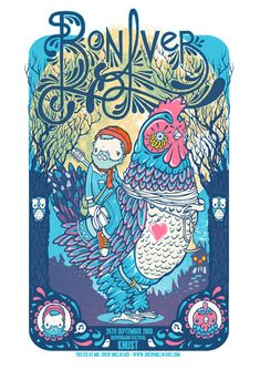 """""""Nothing speaks to me more than Justin Vernon riding bareback on a chicken with musical instruments."""""""