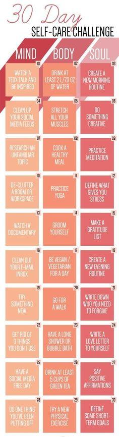 30 DAYS SELF-CARE CHALLENGE