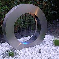 Gartenbrunnen aus Edelstahl rostfrei V4A und V2A
