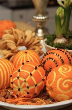 Geur sinaasappels