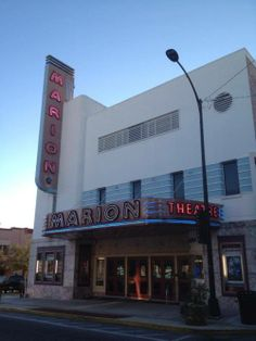 Marion Theater, Ocala, Florida Ocala Florida, Movie Theater, Theatre, Cypress Swamp, Tree Canopy, Vintage Florida, Random Stuff, Art Deco, Cinema