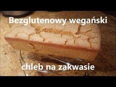 Bezglutenowy wegański chleb kukurydziany na zakwasie ( z napisami ) - YouTube Vegan Bread, Vegan Butter, Bakers Yeast, Rice Bread, No Rise Bread, Baking Flour, Sourdough Bread, Tray Bakes, Vegan Gluten Free
