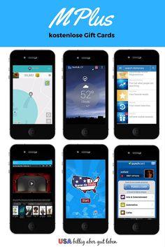 Mit mPlus kannst du in den USA mit der Nutzung einiger Apps Punkte sammeln und diese in kostenlose Gift Cards eintauschen. Einige dieser App's nutzt du vielleicht sogar schon. Mehr dazu in diesem Bericht: http://usabilligabergutleben.blogspot.com/2015/11/mplus.html ...