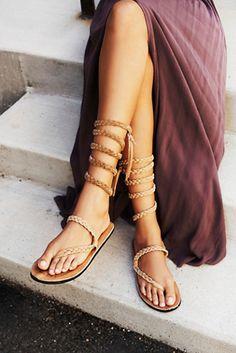 Heathermarie Heaton Womens Braided Sandal