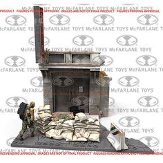 McFarlane Toys Jersey Barriers & Sand Bags Construction Sets @ niftywarehouse.com #NiftyWarehouse #WalkingDead #Zombie #Zombies #TV