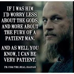 Ragnar on Floki's betrayal...wise words