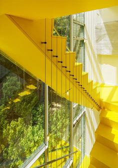 Tower House Stairs, posted via cabbageroseblog.com