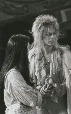 What wpuld have been a cool idea I wish I could have brought to life would be a short sequal or prequel where Jareth is mentoring a girl in magick and his ways as a ruler, basically making her his protégé, but shit goes wrong (ie she gets killed/hurt or abuses her gained powers) David Bowie Labyrinth, Labyrinth Movie, Goblin King, Jennifer Connelly, Sarah And Jareth, Jim Henson Labyrinth, Christina Rossetti, Labrynth, Tv Show Music