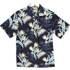 Vintage Cotton Aloha Hawaiian s/s Shirt with Invisible Pocket Size Medium Md