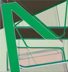 Frank Nitsche     NOH-34-2005  2005  Oil on canvas  39 x 37 cm via Max Hetzler Gallery