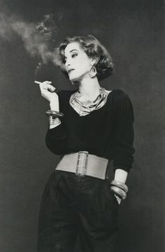 Loulou de la Falaise -- I find that my mother looked a bit like this picture in her younger years