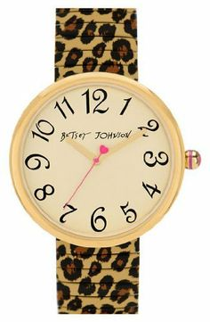 Betsey Johnson Round Expansion Bracelet Watch Betsey Johnson. $95.00. band length: 185mm. band width: 15mm. Approx
