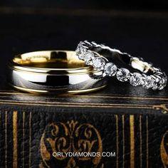 Cool Wedding Rings, Diamond Wedding Rings, Diamond Bands, Wedding Bands, Engagement Rings, Photo And Video, Jewelry, Enagement Rings, Wedding Rings