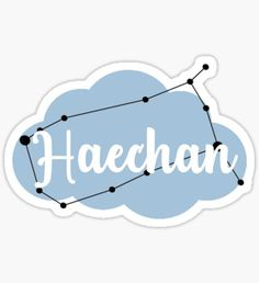 'Jaemin Starsign' Sticker by Chey Keely Pop Stickers, Tumblr Stickers, Printable Stickers, Nct Winwin, Nct Taeyong, Nct 127, Overlays, Make A Phone Case, Background Powerpoint