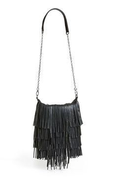 Steve Madden 'Bmocha' Fringe Crossbody Bag available at #Nordstrom
