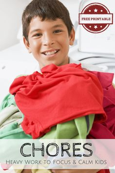 Did you know that chores aren't just helpful for keeping your house in order and for teaching independence? Before my son was diagnosed with sensory proces